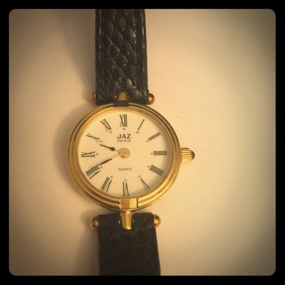 94ea7379523 Gucci Accessories - JAZ wrist watch GUCCI blk band reads